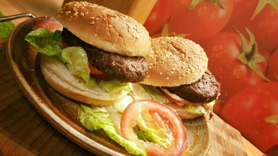 Hamburger broodje in de airfryer