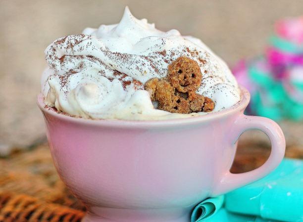 Gingerbread caffé latte