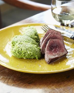 Tournedos van rundvlees met broccoli