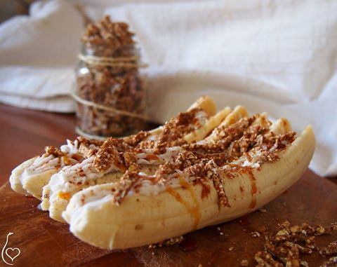 Breakfast bananasplit