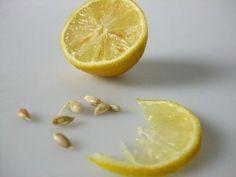 citroenpitten verwijderen