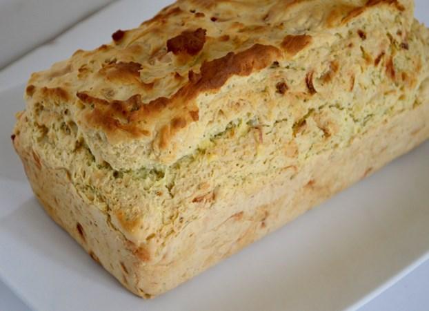 Glutenvrij kaas-ui brood