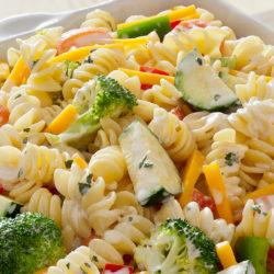 Lente pasta salade