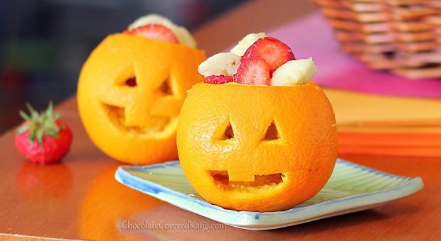 Gezonde Halloween snack!