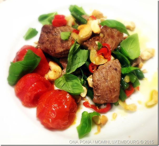 Geroerbakt rundsvlees met chilipepertjes en sperzieboontjes