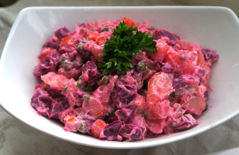 Haïtiaans - russische salade