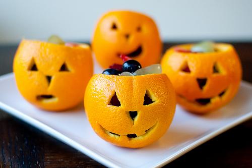 Jack-o-lantern appelsienen