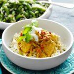 Kokos - vis curry