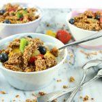 Pindakaas - quinoa granola
