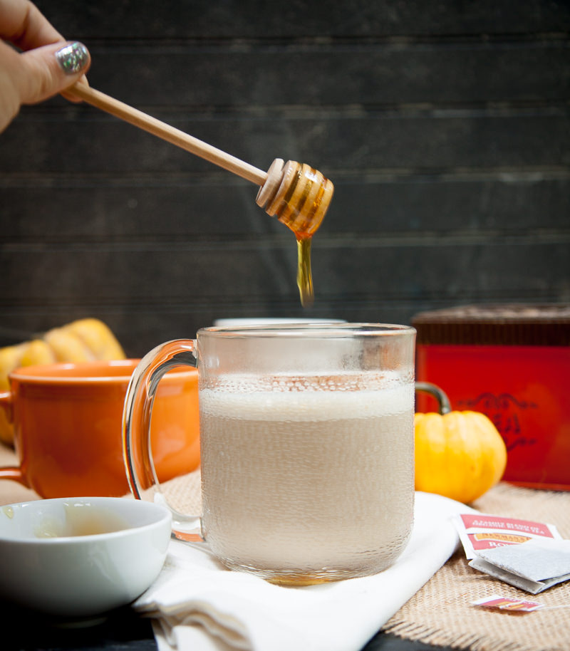 Vanille - honing Chai Tea Latte