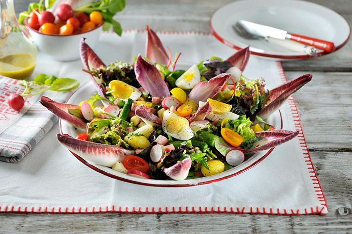 asperge salade met krieltjes en ei