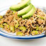 Avocado quinoa salade