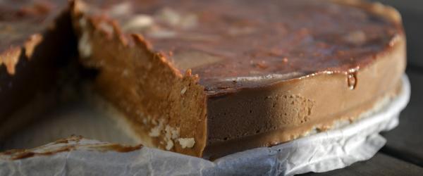 Creamy chocolade kokostaart