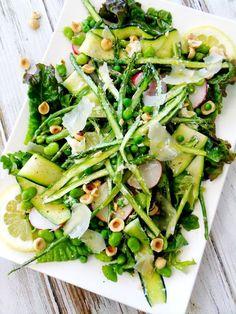 Groene Salade Met Kokosmelk