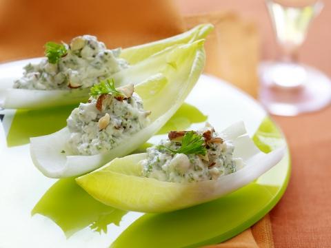 Witloofschuitjes met blauwe kaas