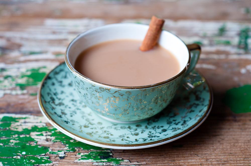 Indian chai tea latte