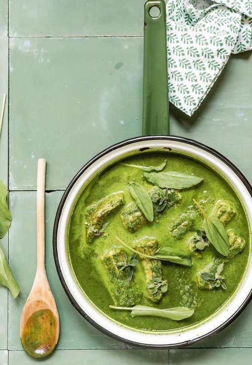 Hondshaai in 't groen met aperitief van wulken